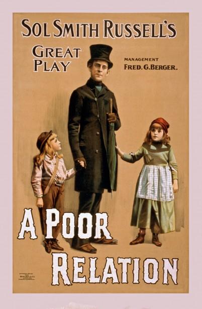 vintage poster poor relation